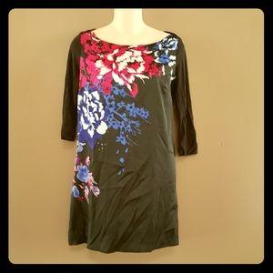 Dynamite floral sheath dress